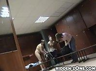Lo249# Voyeur video from locker room
