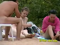 Nu600# Voyeur video from nude beach