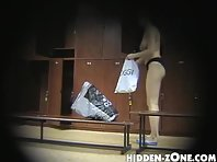 Lo0# Voyeur video from locker room