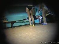 Lo374# Voyeur video from locker room