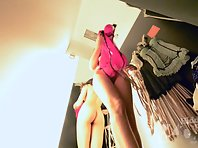 Sp2087# Voyeur video from spy camera.