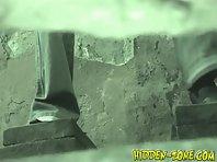 Wc629# Voyeur video from toilet