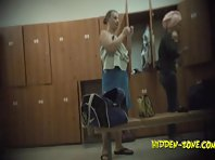 Lo1038# Voyeur video from locker room