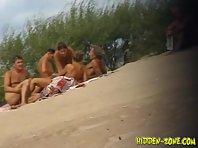 Nu472# Voyeur video from nude beach