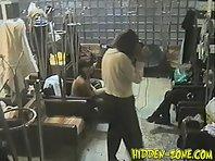 Lo457# Voyeur video from locker room