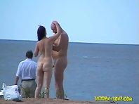 Nu689# Voyeur video from nude beach