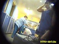 Lo1093# Voyeur video from locker room