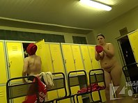 Lo1395# Plump babe is going to the shower in the locker room pool. Our hidden camera shoots her hu