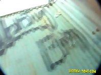 Bc877# Hidden camera in the beach cabin