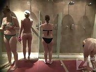 Sh1920# Voyeur video from shower room.