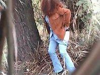 Wc493# Voyeur video from toilet