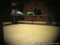 Lo329# Voyeur video from locker room