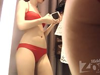 Sp1846# Our friend makes a few photos on a mobile phone. She does not know that the spy sex cam al