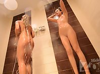 Sh1637# We continue to look at naked girls in the shower. They do not realize that their hidden came
