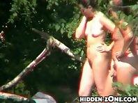 Nu209# Voyeur video from nude beach