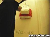 Wc108# Voyeur video from toilet