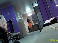 Lo1008# Voyeur video from locker room