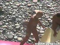 Nu95# Voyeur video from nude beach