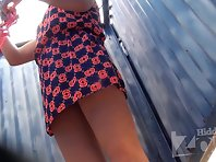 Bc1726# This woman also change clothes without removing panties dress and showed her pussy for a s
