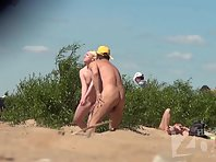 Nu1667# We admire a little naked volleyball player. Her seductive tits bounce when she hits the ba
