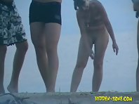 Nu1022# Hidden camera at nude beach