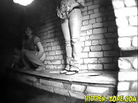 Wc704# Voyeur video from toilet