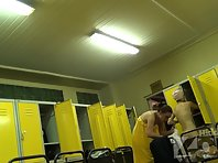 Lo1344# Our Locker room voyeur cam shooting as some women dress at the same time, we seeing boobs