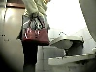 Wc155# Voyeur video from toilet