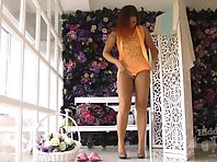 Sp2058# Trying on swimsuits continues, and we continue to enjoy the beautiful naked body. She is bea