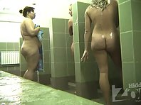 Sh2036# Let's watch the young girl a little more. She spins in the shower and we can admire her body
