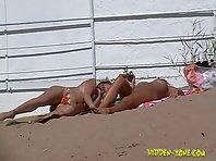 Nu748# Voyeur video from nude beach