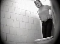 Wc373# Voyeur video from toilet