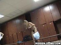 Lo170# Voyeur video from locker room