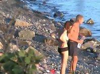 Nu136# Voyeur video from nude beach