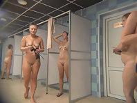 Spy camera in the women's shower.