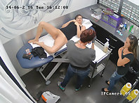 Hidden camera in the beauty salon.