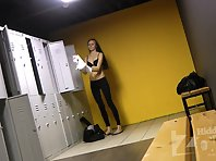 Lo1690# Two students are preparing to go to the gym. They do not know that in the locker room we h