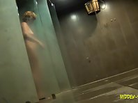 Sh874# Real voyeur video from a female sports club shower!