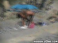 Nu406# Voyeur video from nude beach