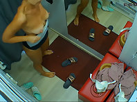Spycam in changing room