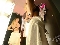 Sp2360# A new girl in a fitting room is always interesting! This time we were lucky - a real beauty