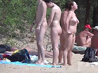 Nu2120# We continue to admire big tits. Nudist beach is an excellent place - there is always somethi