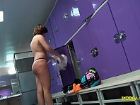 Lo1004# Voyeur video from locker room