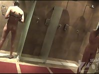 Sh1897# Voyeur video from shower room.