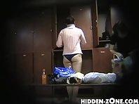 Lo144# Voyeur video from locker room