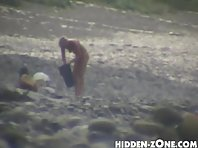 Nu61# Voyeur video from nude beach