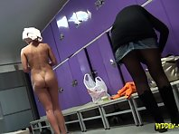 Lo1019# Voyeur video from locker room